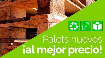 Palets nuevos ecológicos Madrid