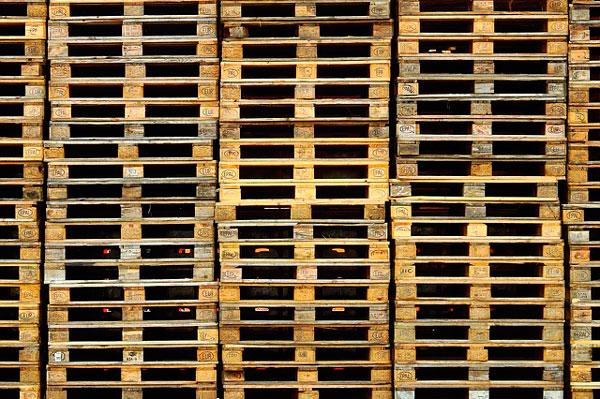 uso de palets de madera