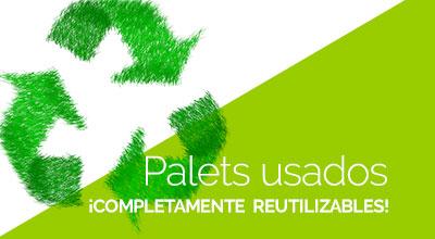 palets usados reutilizables