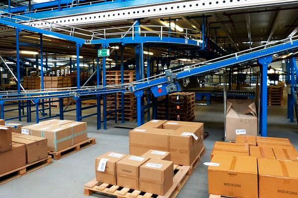 palets de madera para el transporte de mercancías