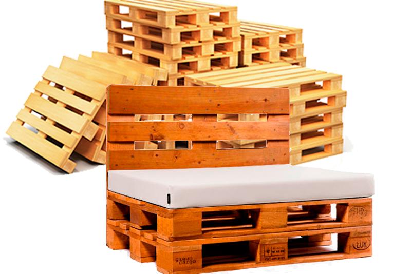 fabricar muebles con palets de madera