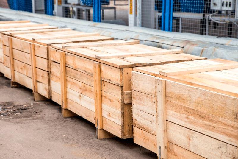 estructuras de madera ideales para el transporte