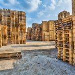 palets de madera para el transporte