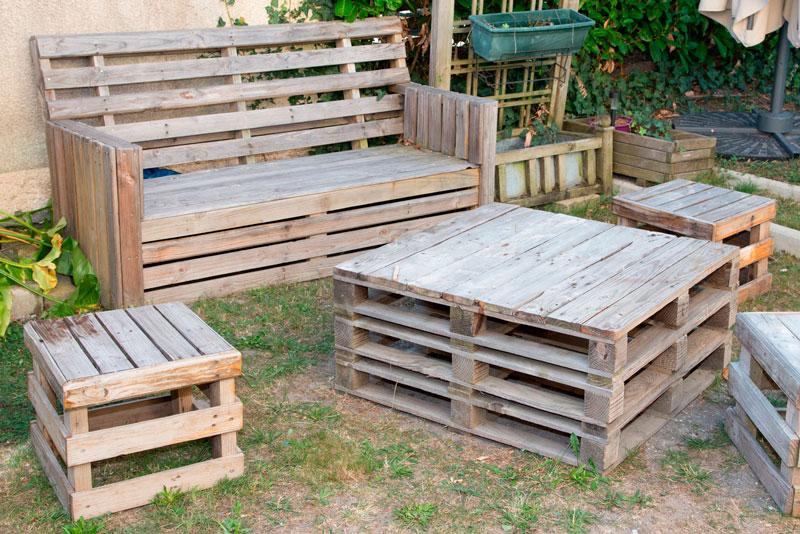 proteger los palets de madera