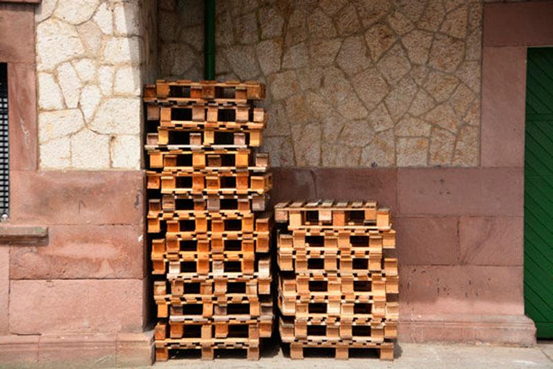 escoger un palet de madera